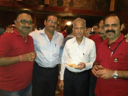 Dr. K Kamalasha (second from right)